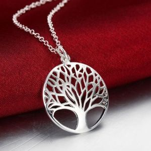 New Silver Plated Tree of Life pendant